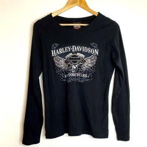 Ladies Harley Davidson Long Sleeve